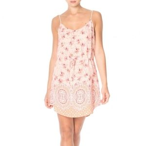 Sanctuary peachy floral sundress